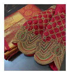 Simple Blouse Designs, Stylish Blouse Design, Blouse Neck Designs, Mirror Work Blouse Design, Churidar Neck Designs, Wedding Saree Blouse Designs, Maggam Work Designs, Sleeves Designs For Dresses, Designer Blouse Patterns