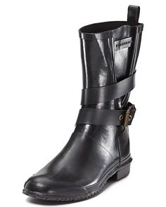 Burberry Buckle Rain Boots | Bloomingdale's