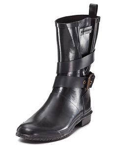 Burberry Buckle Rain Boots | Bloomingdale's