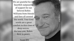 Robin Williams Facebook