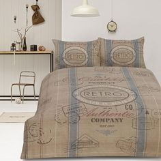 Cargo Natural Quilt Cover Set
