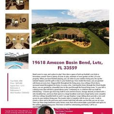 We will be hosting an Open House for 19618 Amazon Basin Bend, Lutz, FL 33559 on Sunday (August 14th) between 11AM - 1PM. Please take a look at this wonderful property!