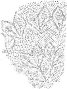 "Photo from album ""Скатерти"" on Yandex. Crochet Tablecloth Pattern, Crochet Doily Diagram, Crochet Pillow Pattern, Crochet Potholders, Crochet Mandala, Mandala Pattern, Crochet Doilies, Crochet Patterns, Yarn Projects"