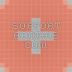 support.addthis.com