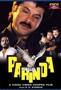 Parinda, directed by Vidhu Vinod Chopra. The definitive gangster noir film in Indian cinema. And music by R.D Burman that will be remembered for generations to come..