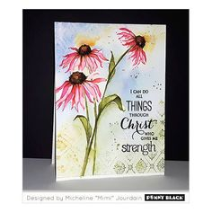 Dancing Daisies Stamp Set | Blitsy