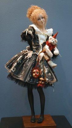 """Международная выставка кукол """"Art of Doll"""" в Гостином дворе. 12.12.2015. Автор: Наталья Мурашева"""