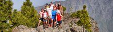 Corriendo del REfugio del Pilar al Pico de La Nieve. Entrenando para Transvulcania