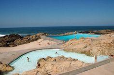 Leca swimming pools, Porto, Portugal - Alvaro Siza