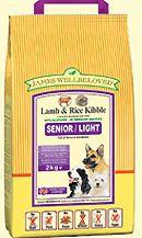 Johnsons Veterinary James Wellbeloved Canine Senior/Light Lamb and Rice James Wellbeloved Canine Senior/Light Lamb amp