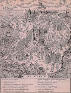 New Atlantis - Francis Bacon