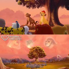 """República O Rei Leão on Instagram: """"Para finalizar nossa sequência de postagens sobre os novos episódios de A Guarda do Leão, esta imagem de Kion e Rani em seu reino. . A…"""" Lion King Series, Lion King Story, The Lion King 1994, Lion King Fan Art, Lion King 2, Disney Lion King, Lion King Images, Lion King Pictures, 2000 Cartoons"""