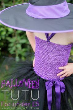 Make tutu for Halloween