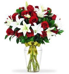 24 Besos de Rosas y Lilies