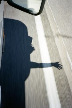 .shadow/car/highway/reflection/free