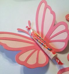 12 Smartie Butterflies Birthday party Candy by InspiredbyLilyMarie, $9.00