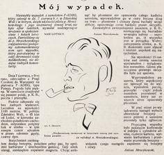 Wypadek pil. inż. Antoniego Mroczkowskiego