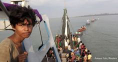 Fleeing the threat of genocide in Burma, over 100,000 ethnic minority Rohingya have taken a perilous journey to leave the country by sea.