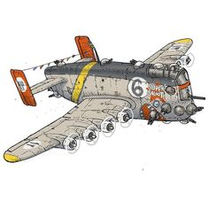 It's that airborne abomination the B-86 SuperGaloot by p_e_a_r_c_e