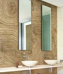 Wood effect bathroom wallpaper LIFE LINES By Wall&decò design Christian Benini Wallpaper Wall, Lines Wallpaper, Bathroom Wallpaper, Amazing Wallpaper, Bad Inspiration, Bathroom Inspiration, Bathroom Ideas, Cabinet D Architecture, Contemporary Wallpaper