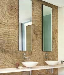 Decoración de baños con papeles de colgadura