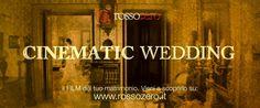 ...Perchè noi non facciamo video, facciamo film! Vieni a scoprirlo. Rossozero. Al passo con i tempi, un passo avanti. rossozero.it  #Rossozero #ZeroWedding #Cinematic #Video #Wedding