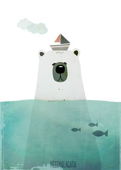 Polar Bear via Miss Malagata