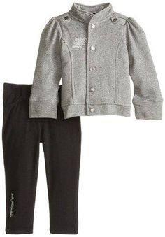 Calvin Klein Little Girls' Sweater Jacket Set, Gray, 2T  https://in.kato.im/63a2339ee45af061f4a5bc0d7e059615ae074ff5123af42e5456d28f4b7b60f/B00K0KBSRE.html