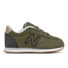 501 New Balance Kids' Infant and Toddler Lifestyle Shoes - Green/Black (KL501V1I)