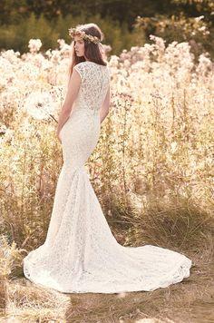 Lace Wedding Dress - Style #2059 | Mikaella Bridal