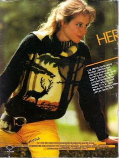 Intarsia Knitting, Knitting Charts, Knitting Needles, Diy Arts And Crafts, Hobbies And Crafts, Cool Sweaters, Sweaters For Women, Wednesday Outfit, Black Pattern