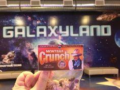 Montana crunch was at the West Edmonton Mall!  #crunchgoestocanada #creamofthewest #wem