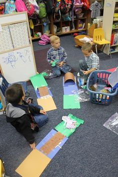 Mrs. Wagner's Kindergarten - Three Billy Goats Gruff Fun