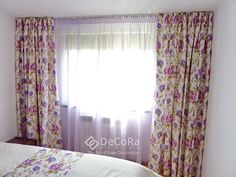 #flower #drapes #kids #room  www.decoradesign.ro Kids Room, Restaurant, Curtains, Flower, Interior, Projects, Design, Home Decor, Log Projects