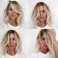 Long Bob Hairstyle for Fine Hair