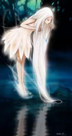 anime Fantasy rp land images beauty fairy wallpaper and background Manga Anime, Manga Girl, Anime Art, I Love Anime, Awesome Anime, Illustration Fantasy, Moon Illustration, Anime Kunst, Anime People