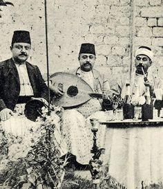 A band in Aleppo - Syria-1915