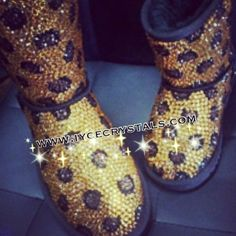 Leopard Bling Boots!