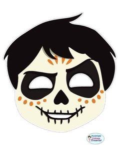 Coco Disney Pixar Pepita personagem Máscara