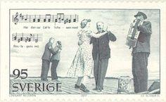 """1977 Sweden - Couples dancing to the song """"In Roslagen"""""""