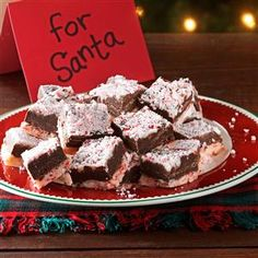 Candy Cane Fudge Recipe -Everyone enjoys fudge, especially around the holidays, so I created this easy recipe. Store it in the refrigerator for a refreshingly cool treat.—Vicki VanValkenburg, Demorest, Georgia
