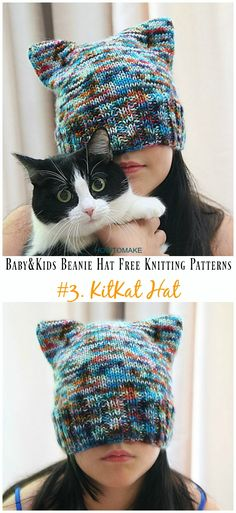 960 Best Free Hat Knitting Patterns Images On Pinterest In 2018