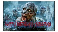 The Walking Dead Zombie Personalized Birthday Frosting Sheet Cake Topper