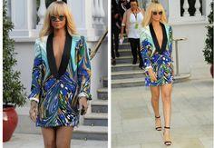 oversize blazer dress