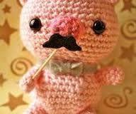 piggy mustache