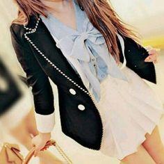 cute shirt and skirt