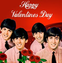 Beatles At Valentine's Day!