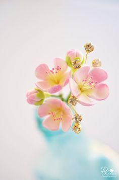 #Blossom #fimo #fleur #flower