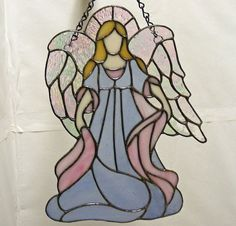 Stained Glass Angel     tjn