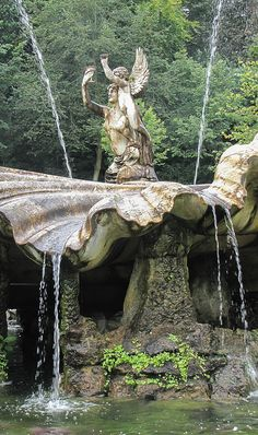 Fountain at Clivedon